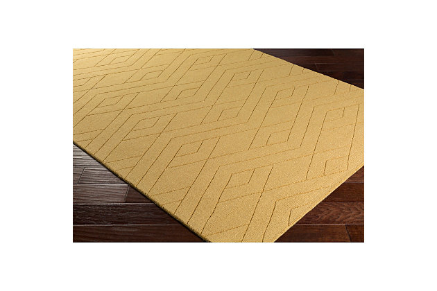 Home Accents Ashlee 2' x 3' Area Rug, Wheat, large