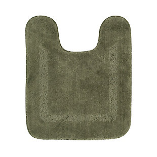"Mohawk Facet Bath Rug Celadon (1' 8""x2'), Green, large"