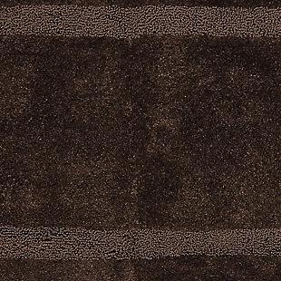 "Mohawk Facet Bath Rug Almond (2'x3' 4""), Brown/Beige, large"
