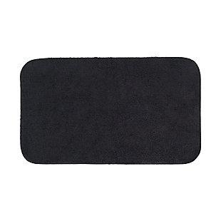 """Mohawk Legacy Bath Rug Black (1' 8""""x2' 10""""), , large"""