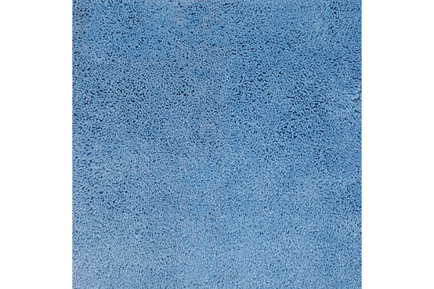 "Mohawk Pure Perfection Sky Blue (1' 8""x2'), Blue, large"