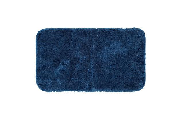 "Mohawk Riverside Bath Rug Dark Aqua (1' 8""x2' 10""), Blue, large"
