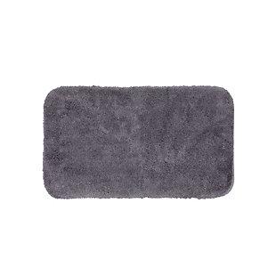 "Mohawk Riverside Bath Rug Black (1' 5""x2'), Black/Gray, large"