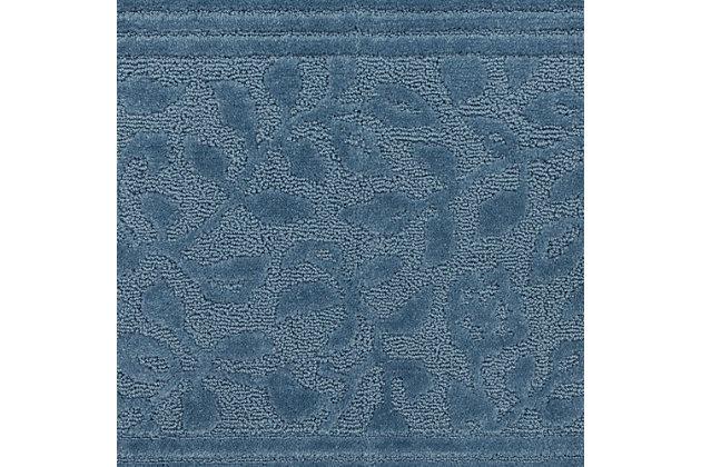 Mohawk Wellington Blue (2'x5'), Blue, large