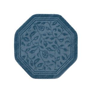 Mohawk Wellington Blue (4'x4' Octagon), Blue, large