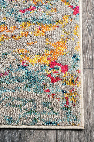 "Nuloom Modern Monet 5' 3"" x 7' 7"" Area Rug, Multi, large"