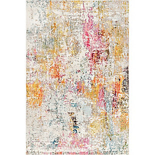 "Nuloom Modern Watercolor 5' 3"" x 7' 7"" Area Rug, Multi, large"
