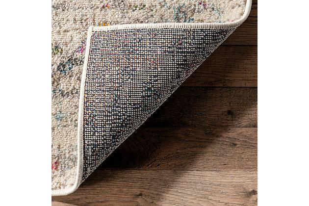 "Nuloom Modern Watercolor 5' 3"" x 7' 7"" Area Rug, Multi, large"