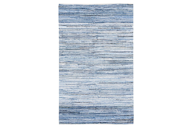 Home Accents Denim 2' x 3' Area Rug, , large