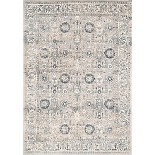 "Nuloom Raelyn Starry Oriental 5' 3"" x 7' 7"" Area Rug, Blue, rollover"