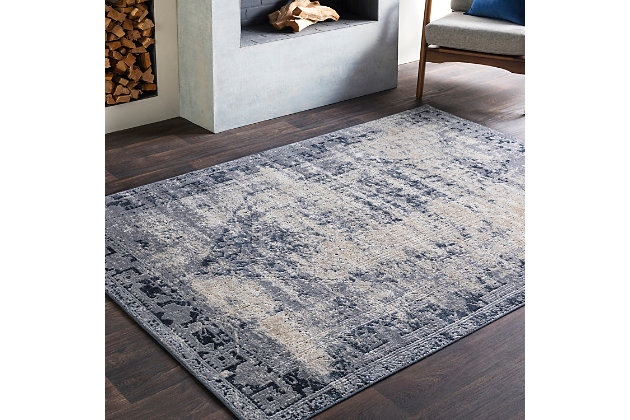 Home Accents Durham 5 3 X 7 Area Rug Ashley