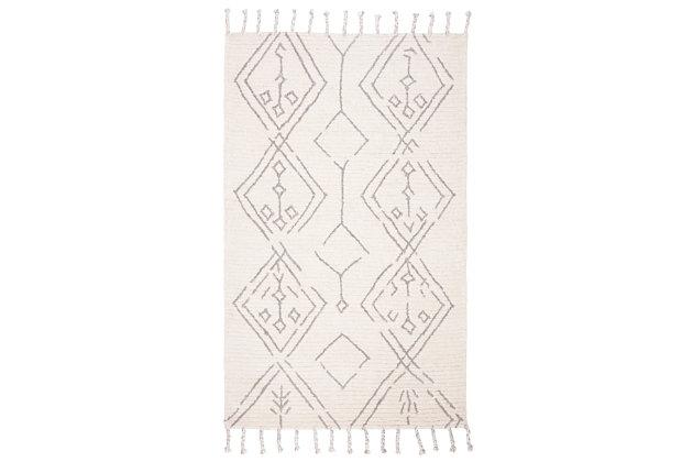 Safavieh Casablanca 5' x 8' Area Rug, Cream, large