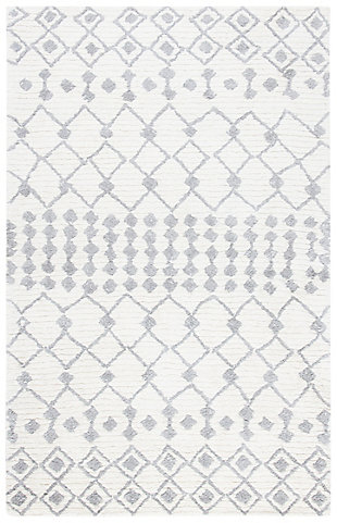 Safavieh Casablanca 5' x 8' Area Rug, Cream, large