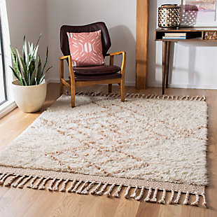 Safavieh Casablanca 5' x 8' Area Rug, Orange, rollover
