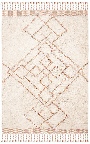 Safavieh Casablanca 5' x 8' Area Rug, Orange, large