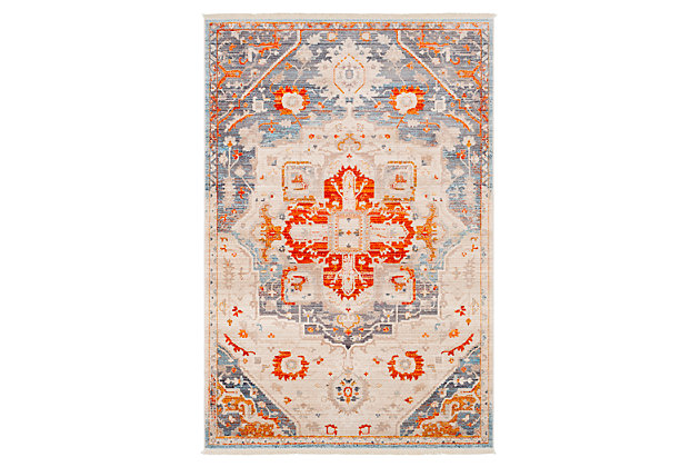 Home Accents Ephesians 3 11 X 5 7 Area Rug Ashley