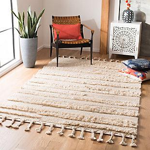 Safavieh Casablanca 5' x 8' Area Rug, Beige, rollover