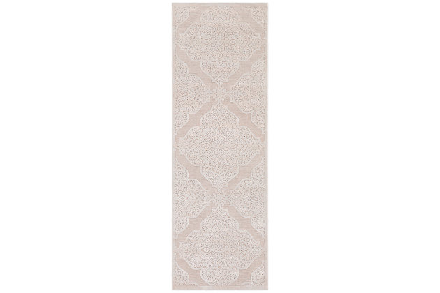 Home Accents Fabolous Area Rug, Beige, large