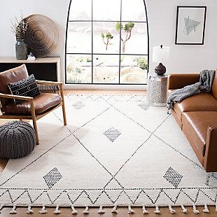 Safavieh Casablanca 5' x 8' Area Rug, Cream, rollover