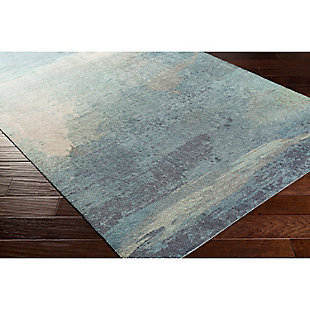 "Home Accents Felicity 5' x 7' 6"" Area Rug, Blue, rollover"