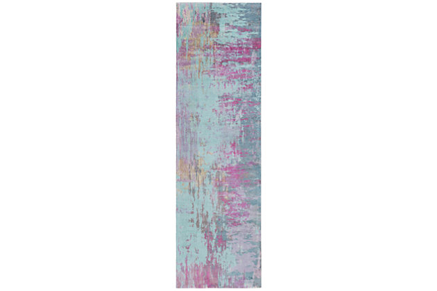 "Home Accents Felicity 2' 6"" x 8' Runner, , large"