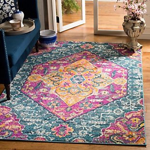 Safavieh Madison 5'-1 x 7'-6 Area Rug, Blue, rollover
