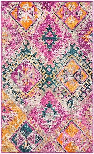 Safavieh Madison 6' x 9' Area Rug, Pink, rollover