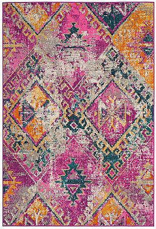 Safavieh Madison 6' x 9' Area Rug, Pink, large