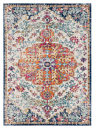 Home Accents Harput 2' x 3' Area Rug, Blue, large