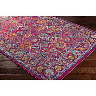 "Home Accents Harput 3' 11"" x 5' 7"" Area Rug, Red, rollover"