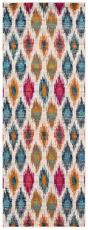 "Home Accents Harput 2' 7"" x 7' 3"" Runner, , large"