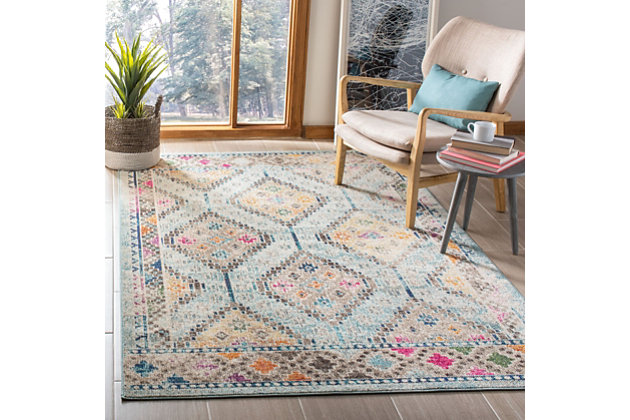 Safavieh Madison 5'-3 x 7'-6 Area Rug, Blue, large