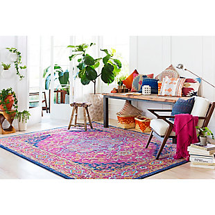 Home Accents Harput 2' x 3' Area Rug, Red, large
