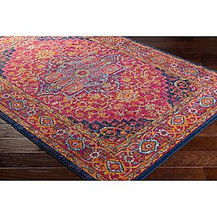 "Home Accents Harput 5' 3"" x 7' 3"" Area Rug, Red, rollover"