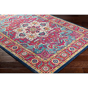 Home Accents Harput 2' x 3' Area Rug, Red, rollover