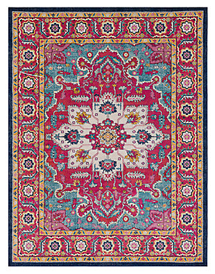 "Home Accents Harput 7' 10"" x 10' 3"" Area Rug, Red, large"