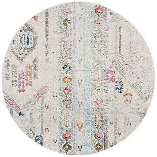 Safavieh Madison 6'-7 x 6'-7 Square Area Rug, Gray, large