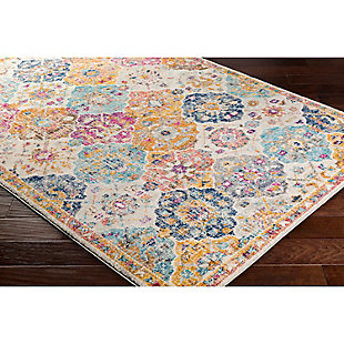 "Home Accents Harput 3' 11"" x 5' 7"" Area Rug, Orange, rollover"