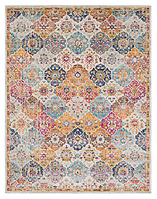 "Home Accents Harput 7' 10"" x 10' 3"" Area Rug, Orange, large"