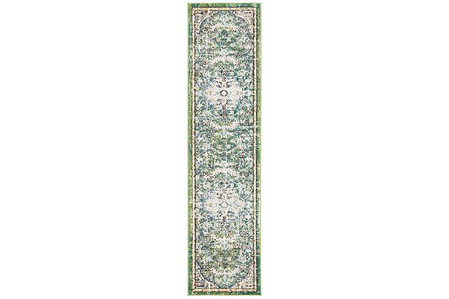 Safavieh Madison 2'-2 x 14' Runner, Green, large