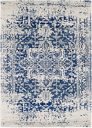 "Home Accents Harput 3' 11"" x 5' 7"" Area Rug, Dark Blue, large"