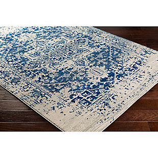"Home Accents Harput 6' 7"" x 9' Area Rug, Dark Blue, rollover"