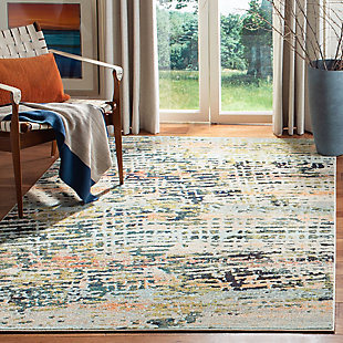 Safavieh Madison 5'-3 x 7'-6 Area Rug, Brown/Beige, rollover