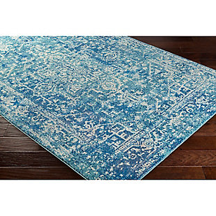 "Home Accents Harput 7' 10"" x 10' 3"" Area Rug, Blue, rollover"