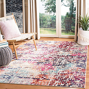 Safavieh Madison 5'-3 x 7'-6 Area Rug, Red/Burgundy, rollover