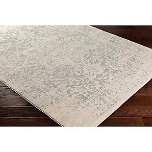 "Home Accents Harput 6' 7"" x 9' Area Rug, Gray, rollover"