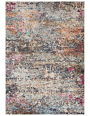 Safavieh Madison 5'-3 x 7'-6 Area Rug, Black/Gray, large