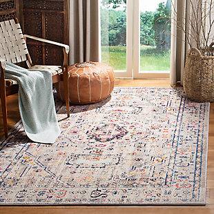 Safavieh Madison 5'-3 x 7'-6 Area Rug, Black/Gray, rollover