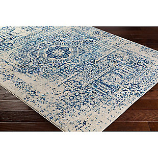 "Home Accents Harput 3' 11"" x 5' 7"" Area Rug, Blue, rollover"