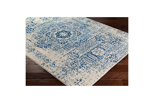 "Home Accents Harput 3' 11"" x 5' 7"" Area Rug, Blue, large"